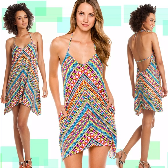 Trina Turk Other - Trina Turk halter cover up dress M